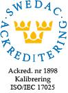 17025 Ackrediteringsmärke 1898 Färg